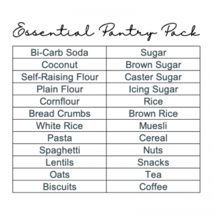 Essential Pantry Pack 24 Labels