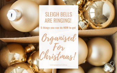 5 Things You Can Do NOW To Get Organised For Christmas